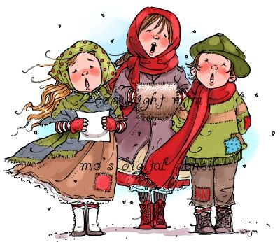 14+ Christmas caroling clipart free information
