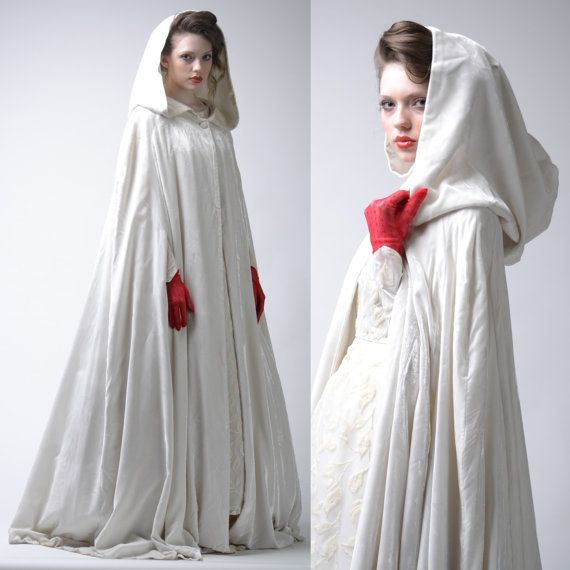 Hooded Cloaked Vampire Woman Photos