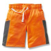 Ready for play or practice, these breathable mesh shorts are a great addition to his active outfits. Pair with active tops for a complete outfit.