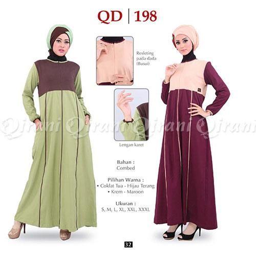 Baju Qirani Gamis Model Q198 Abaya In 2018 Pinterest Model