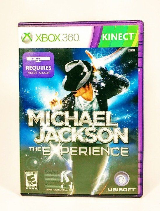 VIDEO GAME MICHAEL JACKSON EXPERIENCE (2011) COMPATIBLE