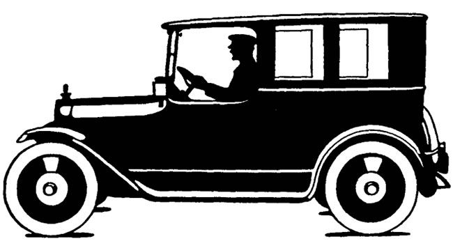Old Car Silhouette With Images Car Silhouette 1920s Car Car