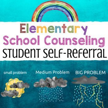 This easy to use student self-referral form was designed to help - referral form