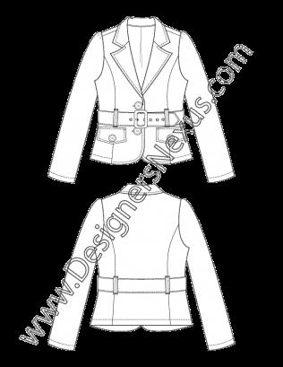 Pin By Designers Nexus Inc On Free Fashion Flat Sketches