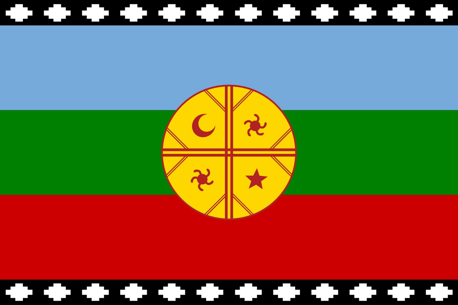 Resultado de imagen para bandera mapuche para pintar | mapuches ...