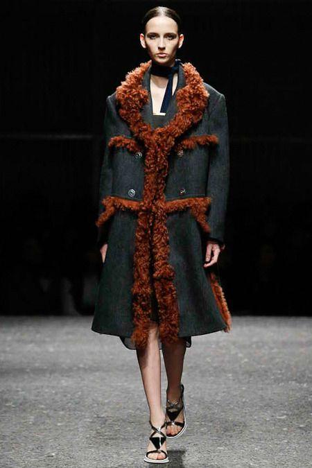 Prada- shearling coats will be DA Thing this Winter