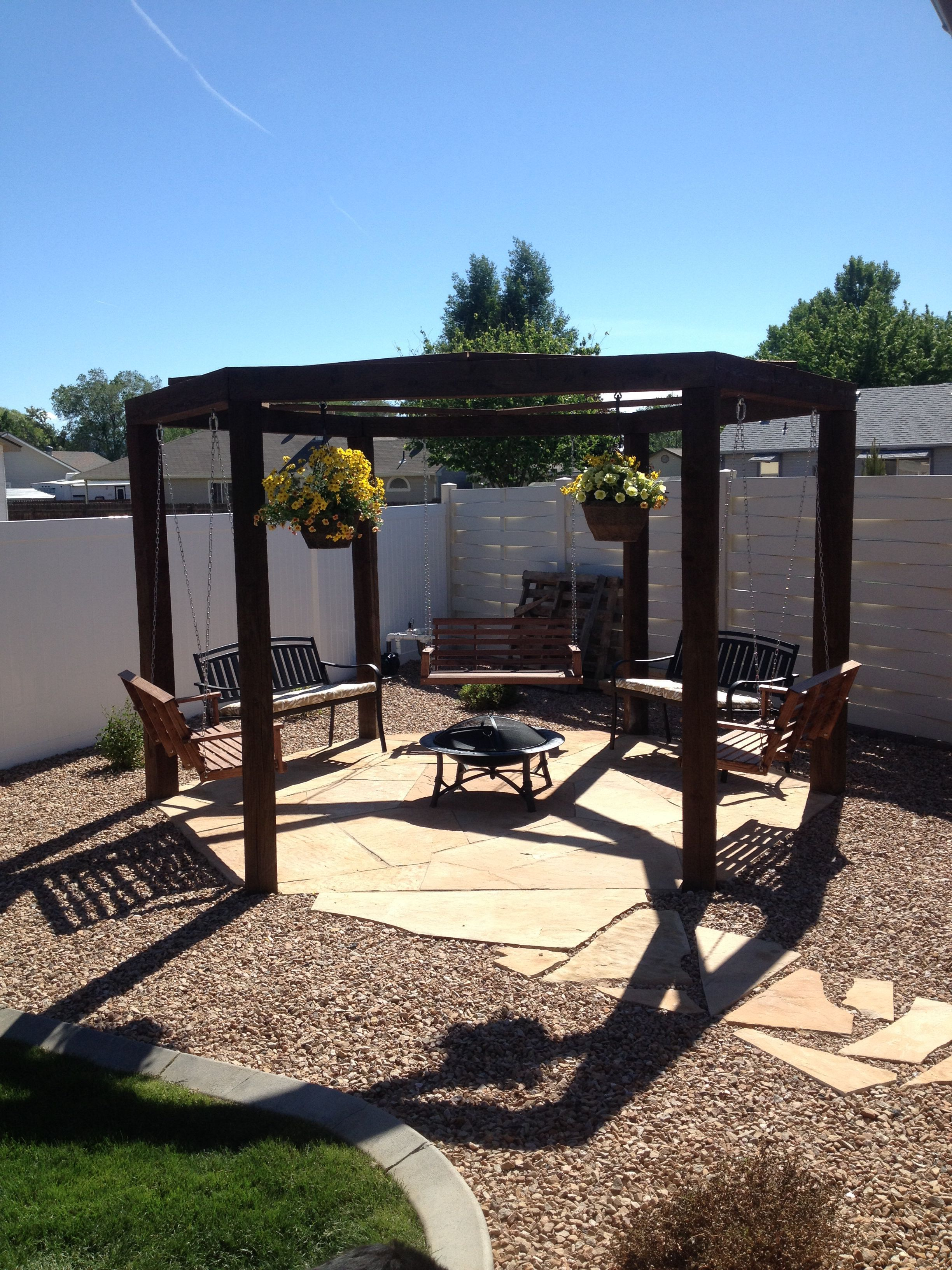 27 inspiring diy fire pit ideas to improve your backyard decor rh pinterest com