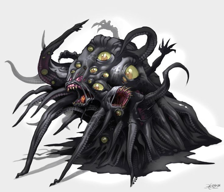 illustrations of hp lovecraft monsters - Google Search ...