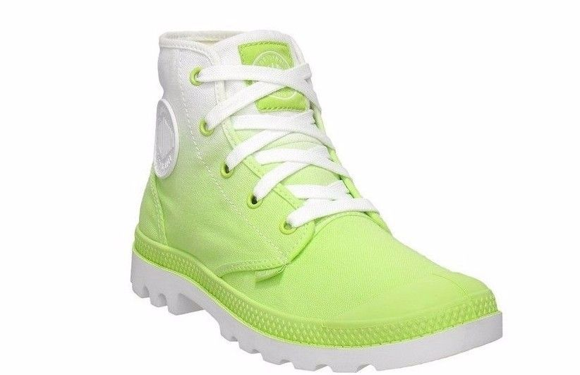 New Palladium Womens Blanc Hi Green Fade Hi Top Sneakers Boots Shoes Size 8 #Palladium #FashionAnkle #Casual
