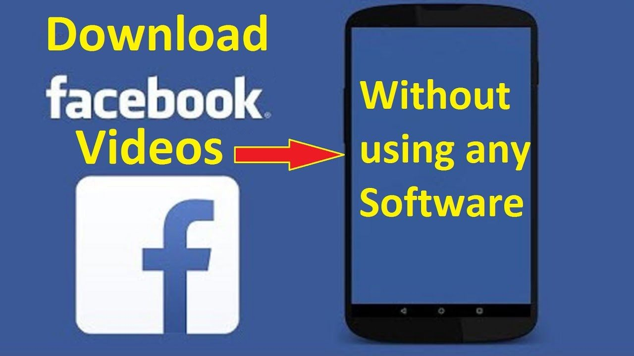 Save Facebook Videos Onto Your Phone Howtosolveit Youtube