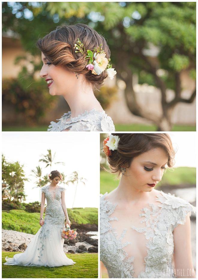 hair make up by adiel from salon 253 beach weddings by maui simple wedding