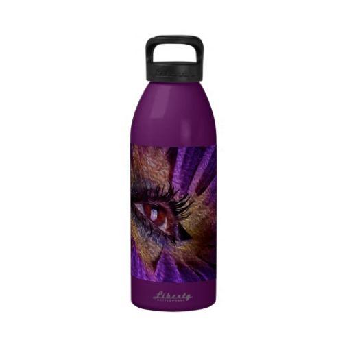Eye Flower Water Bottle