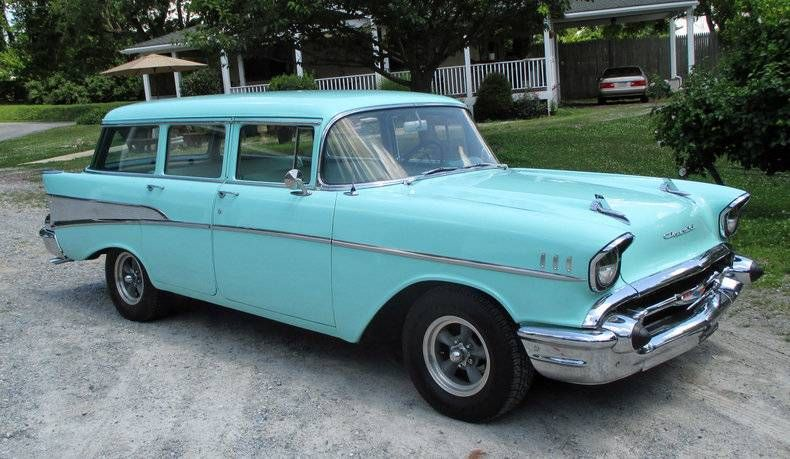 1957 Chevrolet Bel Air Station Wagon Chevrolet Chevrolet Bel