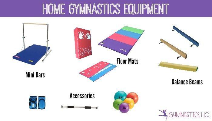 Home Gymnastics Equipment Beams Mats Bars And More Gymnastics