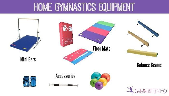 Home Gymnastics Equipment Beams Mats Bars And More