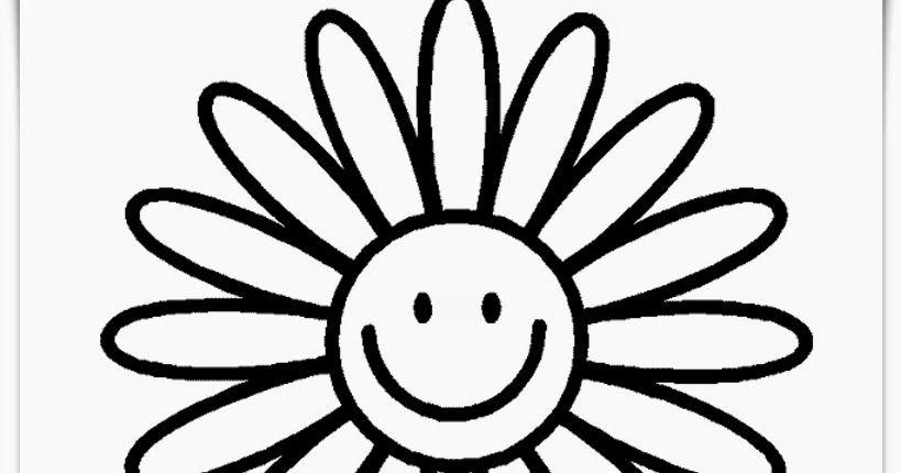 Gambar Bunga Matahari Anak Tk Bunga Matahari Gambar Anak