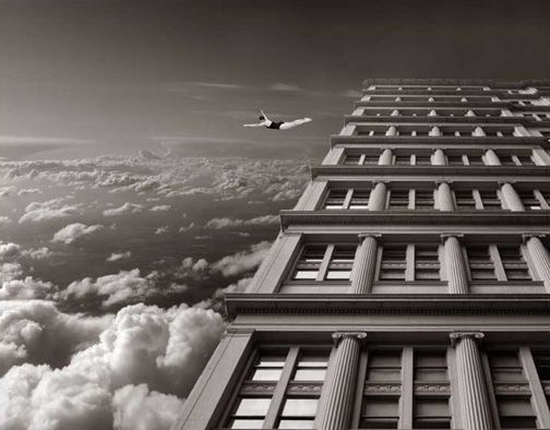 Thomas Barbey photography. multiple exposures