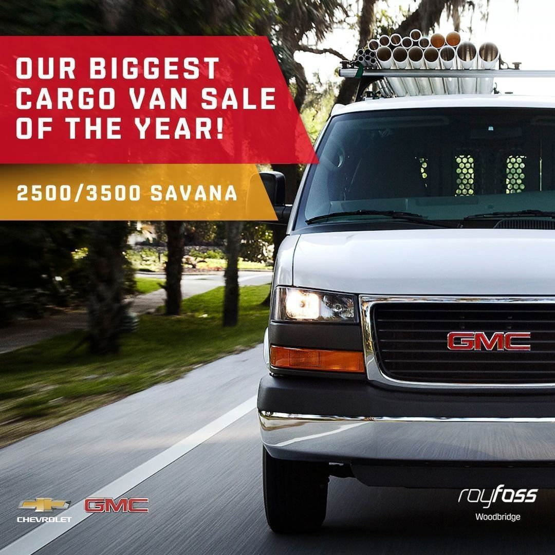 Our Biggest Cargo Van Sale Of The Year Is On A Strong