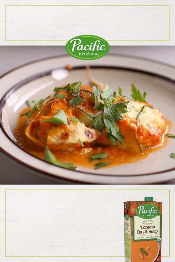 Zucchini Lasagna Rollups