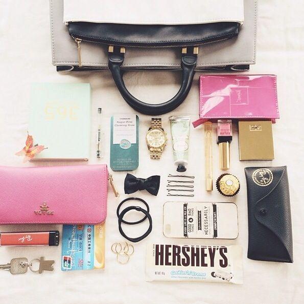 Ce qu'il faut avoir dans son #sac