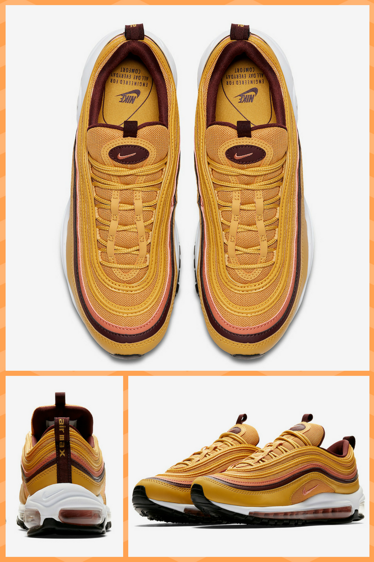 a665b15babed5 mustard Nike Air Max 97 - click for more images and info about release  dates.