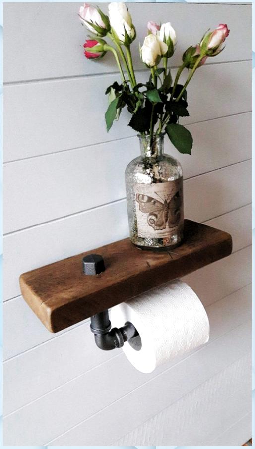 Toilettenrolle Halter Regal Badezimmer Zubehor To Ba In