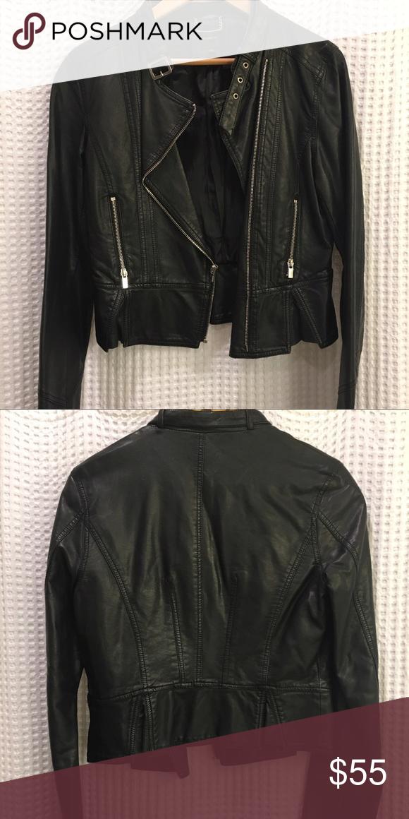 Black Leather Jacket In fantastic condition 5af54deb211