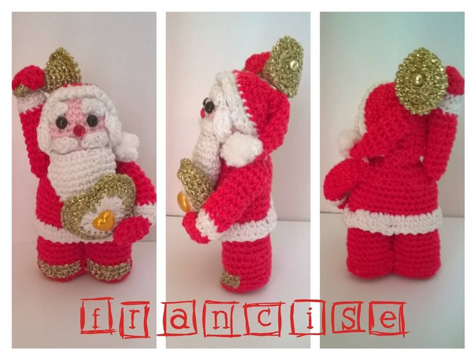 babbo natale crochet, thun