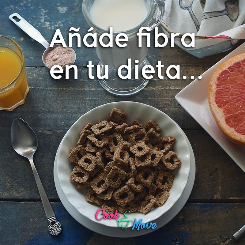 Si últimamente has sufrido de estriñimiento, recuerda que lo primero que debes incluir en tu dieta es la fibra, pues tiene un gran poder laxante y ayuda a mover los deshechos a través del cuerpo  #Fibra #CookAndMove #CocinayMuevete #Fit #estreñimiento