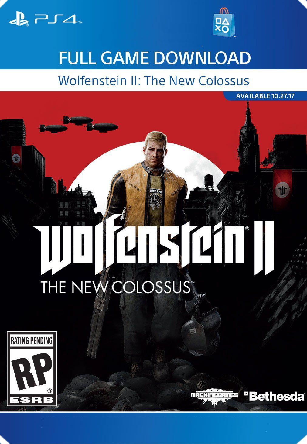 Wolfenstein II The New Colossus PS4 [Digital Code],