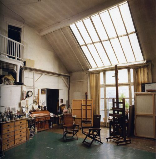 Whistler's studio, Paris (Photographed in 1994)