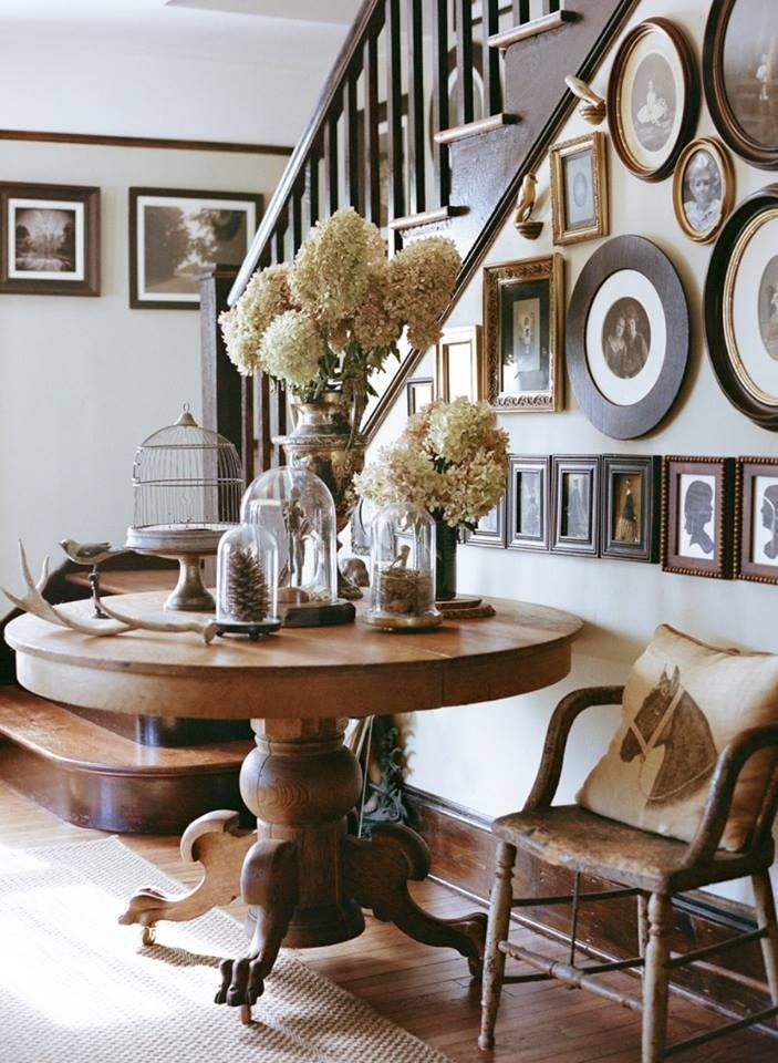Entryway Ideas to Make You Feel Welcome Round entry table Entry