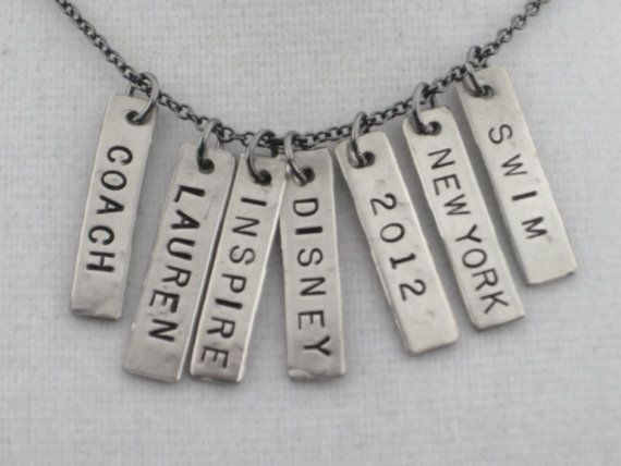 ONE 1 CUSTOM Name Race Year City or Word Nickel by TheRunHome