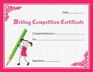 Writing competition award certificate template for ms word writing competition award certificate template for ms word download at httpcertificatesinn yadclub