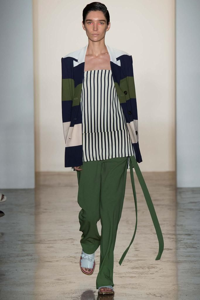 Stripes on stripes - Peter Som Spring 2015