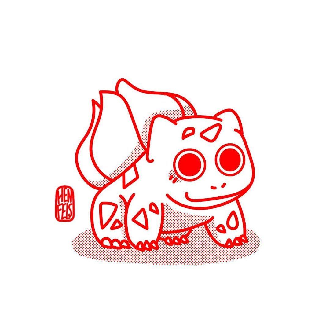 Starter : Bulbizarre/Bulbasaur . De loin mon starter préfèré 🥰 Après ça dans toutes les licences Pokémon j'avais un coup de coeur pour les starters type herbe 🍃 . By far my favorite starter 🥰 After that in all the Pokémon licenses I fell in love with grass starters . . . . . . . . . . . #pokemon #bulbasaur #bulbizarre #starter #pokémon #nintendo #drawings #draw #drawoftheday #illustration #illustrator #tatoo #tattoo #lineart #line #art #ink #japan #japanesetattoo #japanesestyle #postoftheday