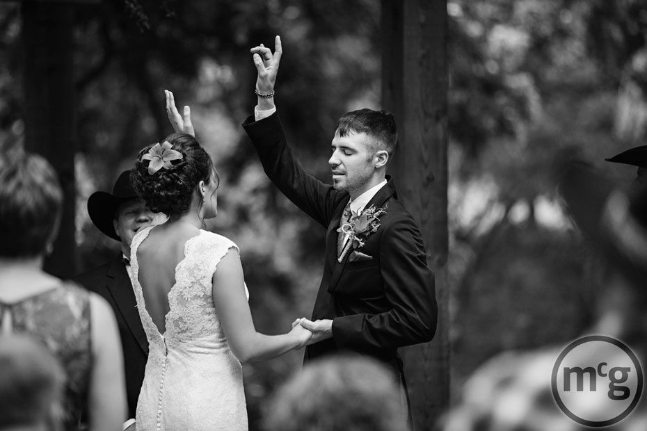 worship song in the ceremony. I\'ve never seen this done. I like the ...