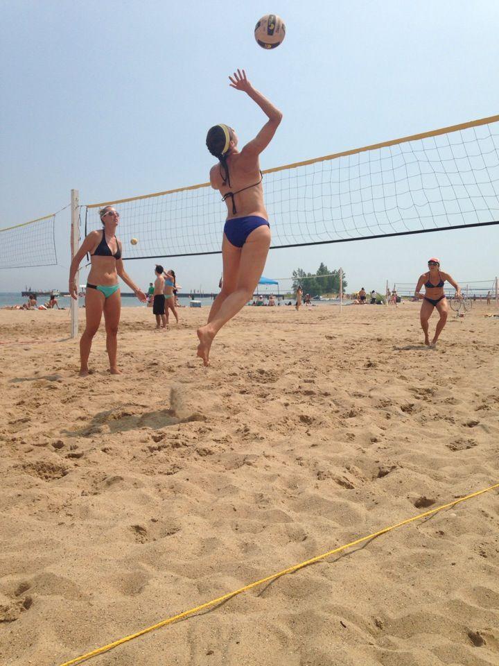 North Avenue Beach Volleyball Beach Volleyball Volleyball Beach