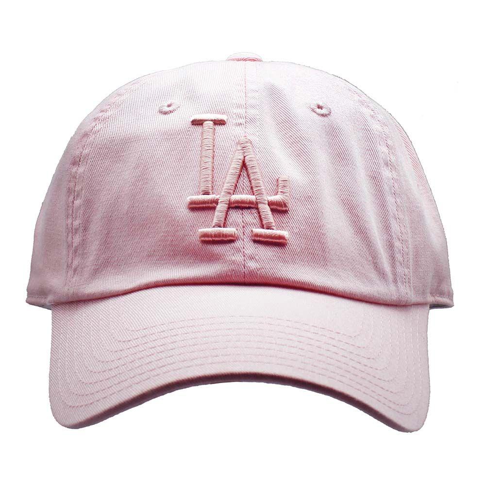 ef1ff3aeb57 American Needle Los Angeles Dodgers Tonal Ballpark Raglan Baseball Hat in  Pink