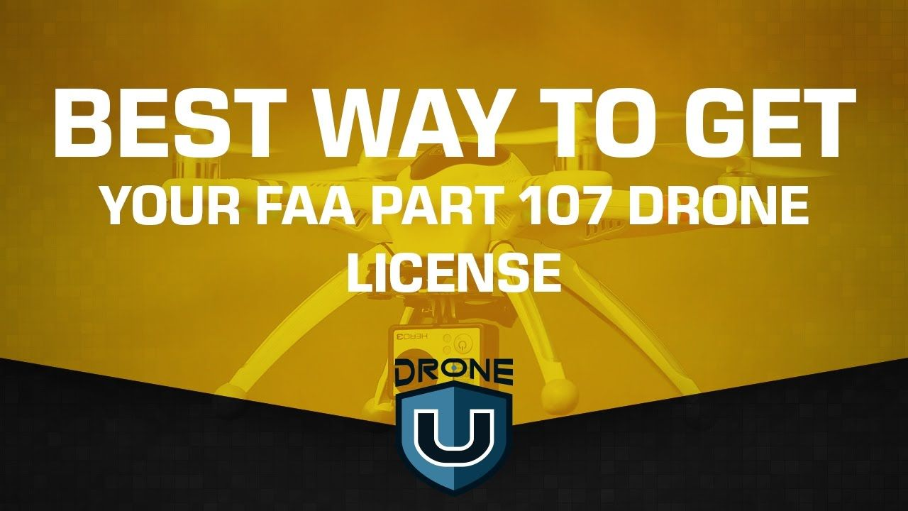 Best way to get your part 107 drone license YouTube