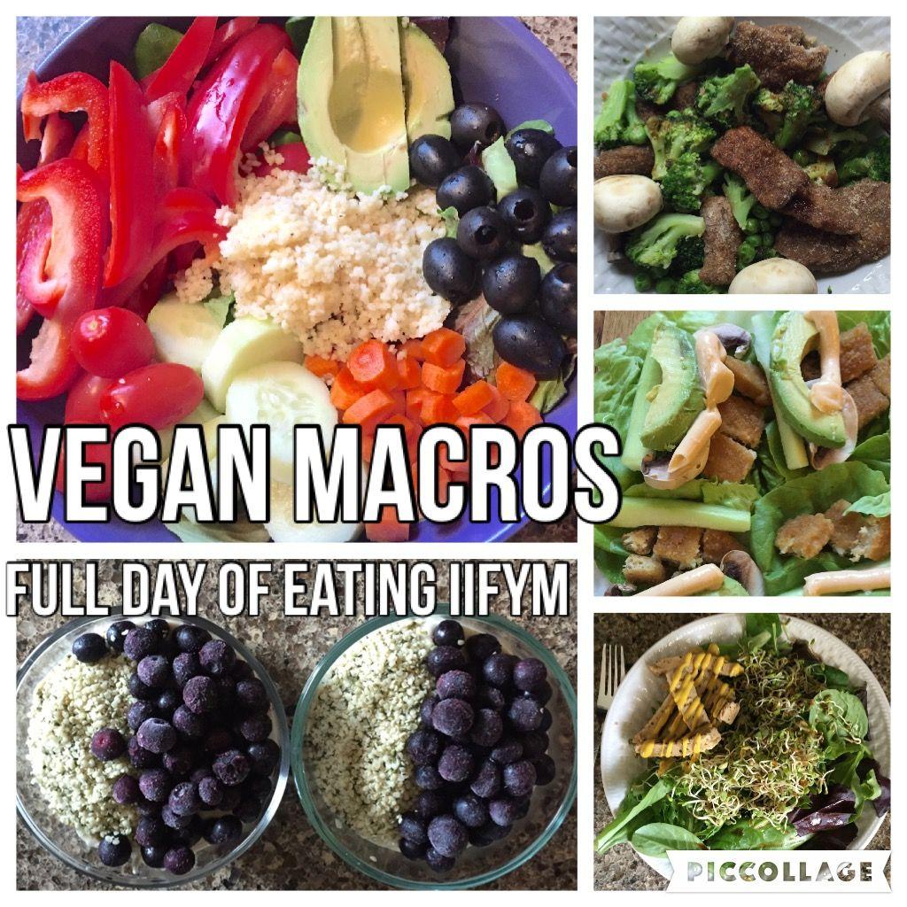 Vegan Macros Full Day Of Eating Iifym 30 Heart Healthy Dinners Vegan Meal Plans Vegan Eating