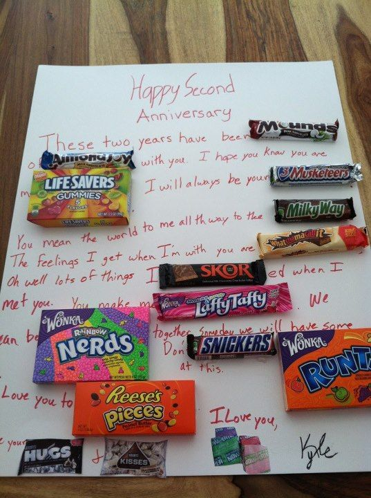 Anniversary Candy Gram Bff Birthday Gift Candy Grams Candy Cards