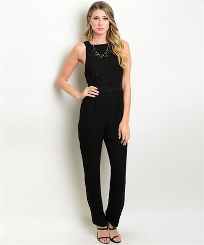 156dcd32b485 Black Jumpsuit - 10% Off (coupon code  Legacy)   LegacyLooks.com ...