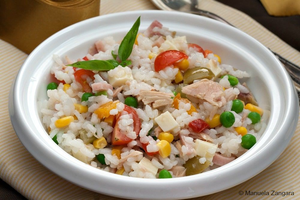 Italian Rice Salad Recipe Rice Salad Italian Rice Italian Recipes