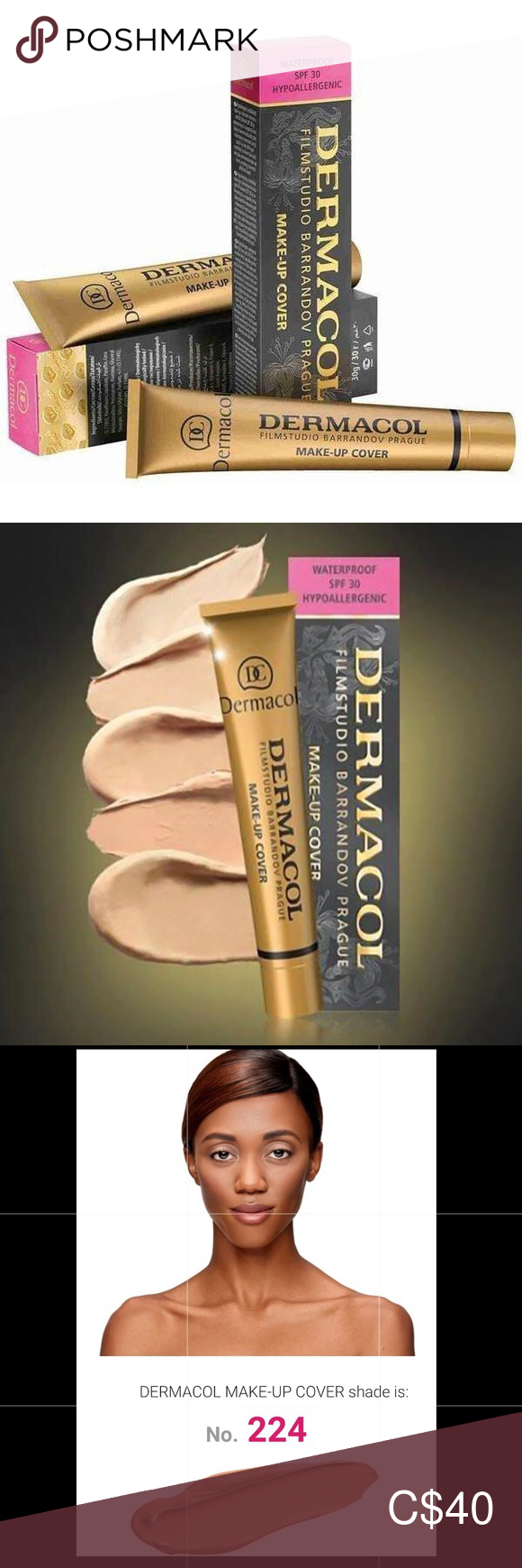 Dermacol Make Up Cover shade 224 This is the World's N•1