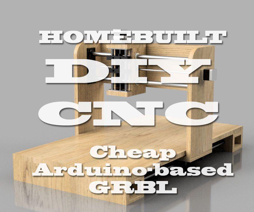 Homebuilt diy cnc router arduino based grbl diy