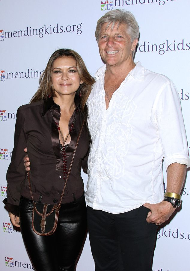 Image result for Nia Peeples and her husband Sam George