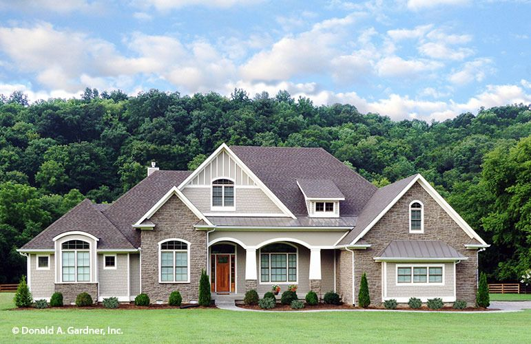 The Chesnee House Plan By Donald A Gardner Architects Craftsman Style House Plans Craftsman House Plans Dream House Plans