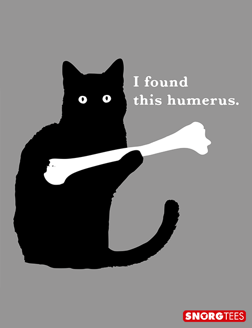 aa40d04d I Found This Humerus T-Shirt | I'd rather stay home... | Funny cats ...