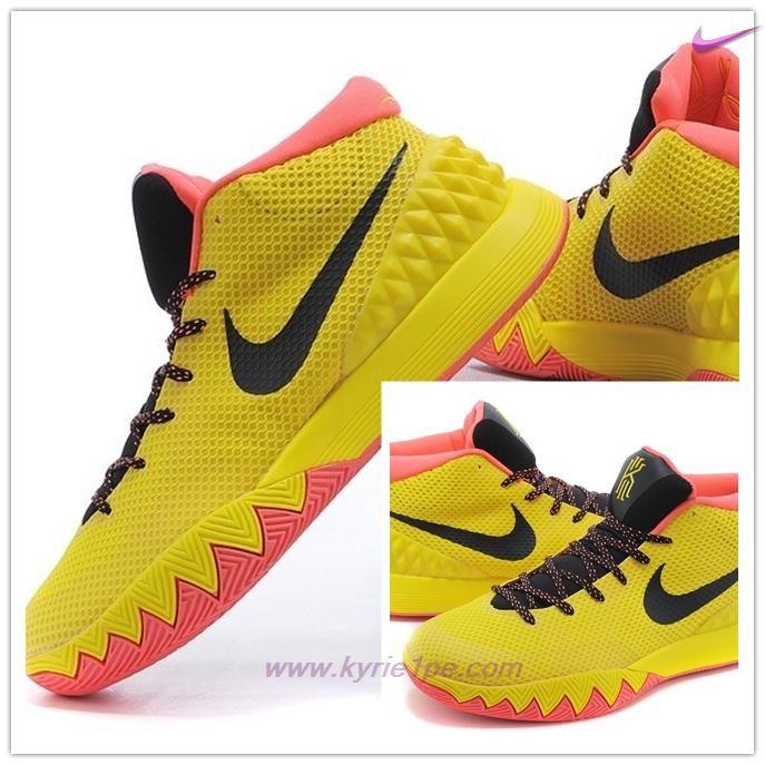 scarpe da basket migliori nike kyrie 1 ep giallo arancione nero
